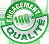 Engagement 100% Qualité